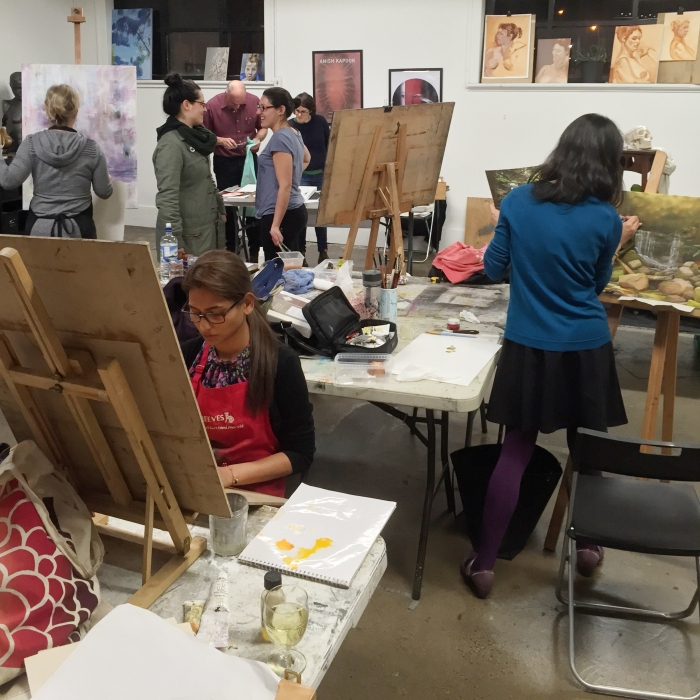 The Art Room, Open Studio Class.