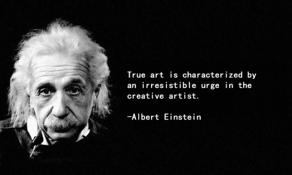 art-quotes-by-albert-einstein-and-picture-of-himself-in-black-famous-artist-quotes-about-life-580x348