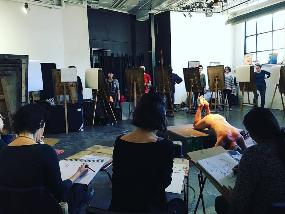 Casual Life Drawing at The Art Room in Footscray