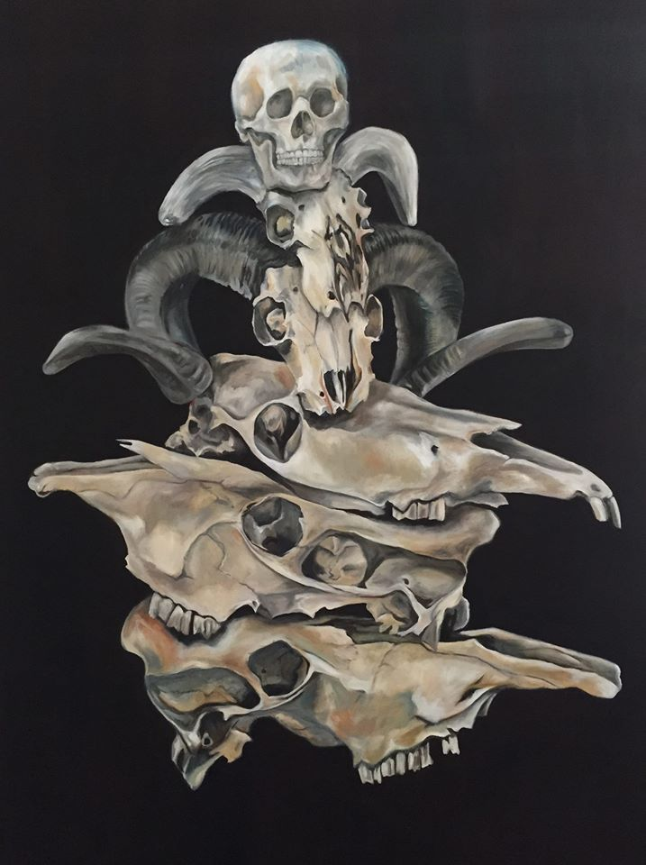 Totem, by Lucy Allnutt