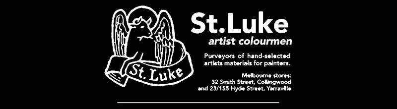 St Luke, Artist colourmen, logo.