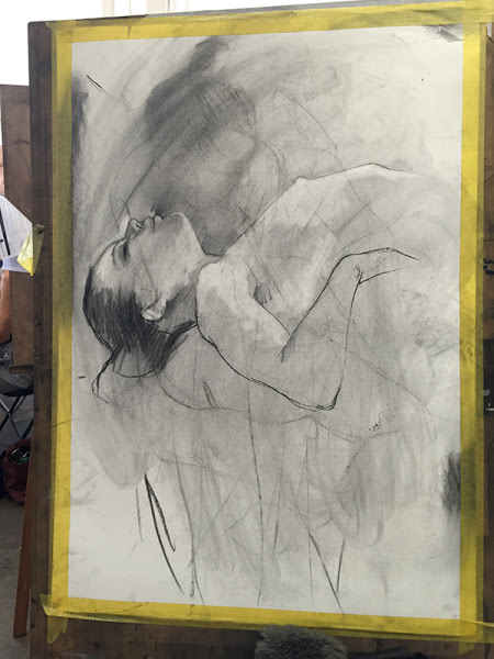 casual life drawing - Saturday 8 October.