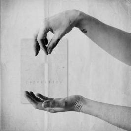 """""""Let it go, I'll catch you"""", digital collage by Kara Rasmanis"""