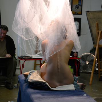 Casual Life Drawing at The Art Room, Footscray.