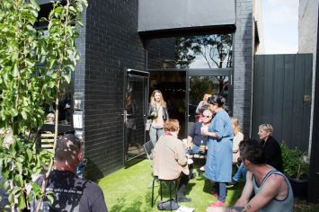 The Art Room Studio launch party at 125 Hyde Street, Footscray.