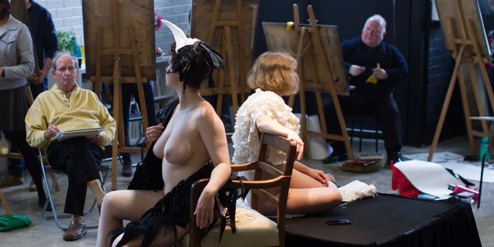 Long Pose Life Drawing/Painting at The Art Room