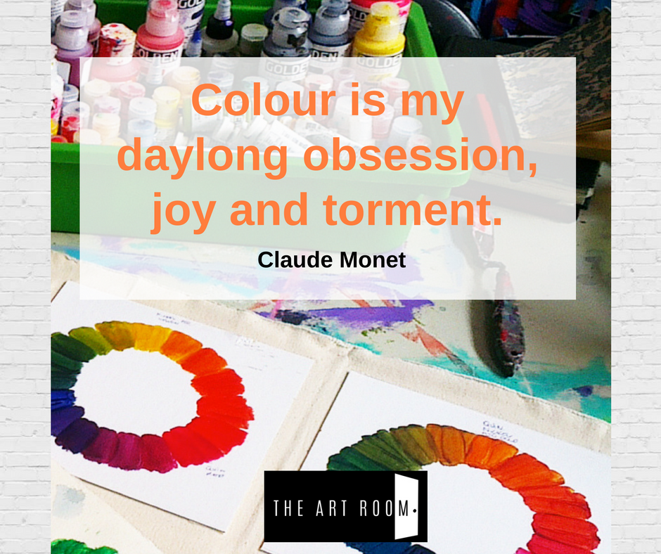 Colour is my daylong obsession, joy and torment. Claude Monet