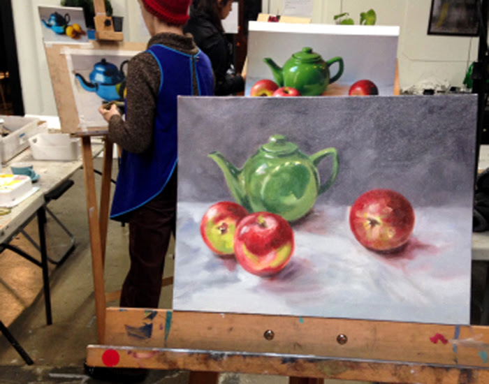 Foundation Drawing at The Art Room