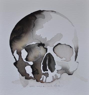 Michael Peck_Skull study 1_2013