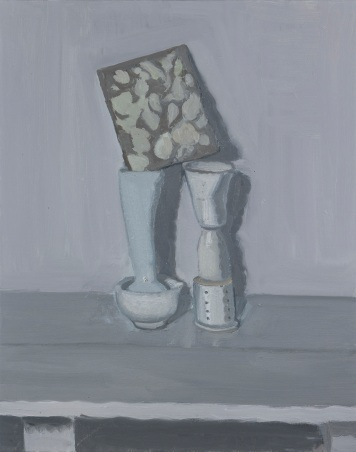 Coppersmith_Yvette_common structure, smoothie_oil on linen_75.6cm x 60.5_2014